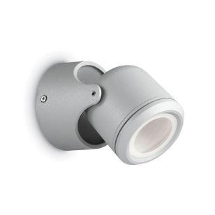 Raro Outdoor Wall Mounted Spotlight - Grey