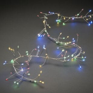Konstsmide Multi Coloured LED Micro Wire Cluster Fairy Lights - 360 Lights
