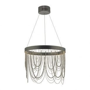Dar Roella LED Ceiling Pendant Light - Bronze