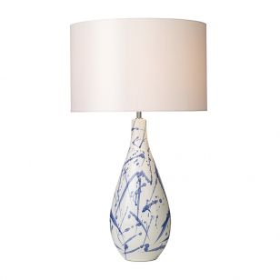 Dar Olkav Ceramic Table Lamp - Base Only