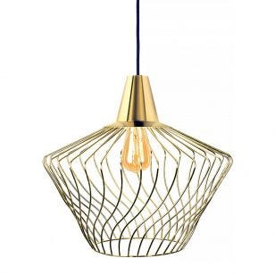 Edit Shape Ceiling Pendant Light - Gold