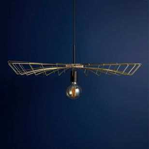 Edit Canopy Ceiling Pendant Light - Gold