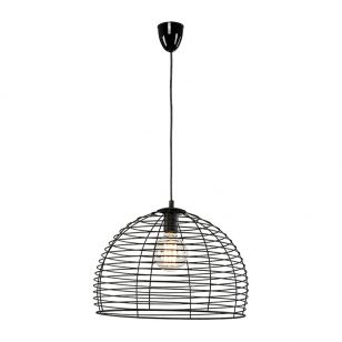 Edit Dome Ceiling Pendant Light - Black