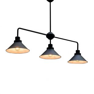 Edit Craft 3 Light Bar Ceiling Pendant - Black