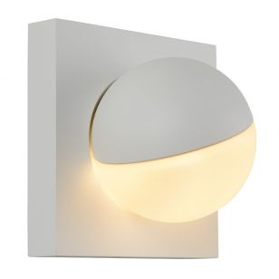 Lucide Phil LED Adjustable Wall Light - White