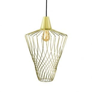 Edit Shape Large Ceiling Pendant Light - Gold