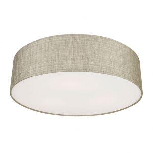 Edit Turda Flush Ceiling Light - Grey