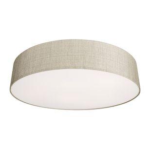 Edit Turda Large Flush Ceiling Light - Grey