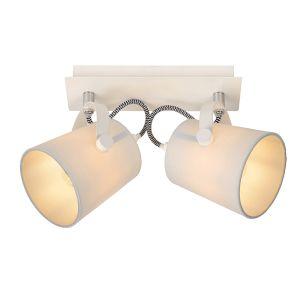 Lucide Edo 2 Light Spotlight Plate - White