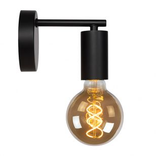 Lucide Leanne Wall Light - Black