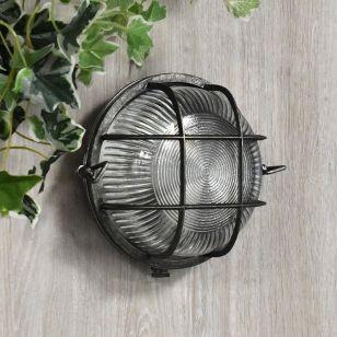 Edit Coastal Beacon Outdoor Flush Wall Light - Pewter