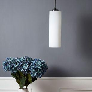 Edit Savoy 10 Glass Ceiling Pendant Light - White