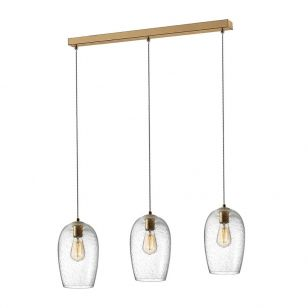 Edit Clere 3 Light Bar Ceiling Pendant - Gold