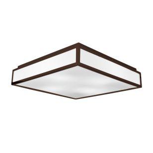 Edit Glaze Flush Ceiling Light - Bronze