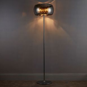 Edit Belgravia Glass Floor Lamp - Crystal