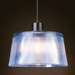 Edit Dusk Glass Ceiling Pendant Light - Black