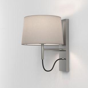 Astro Telegraph Wall Light - Light Only - Matt Nickel