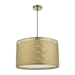 Dar Tino Ceiling Pendant Shade - Matt Gold