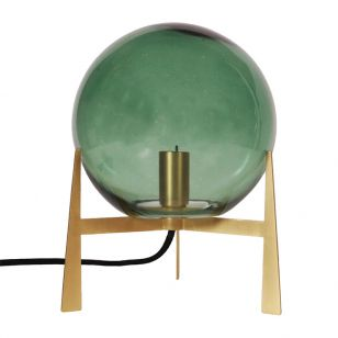 Edit Milla Glass Table Lamp - Green