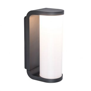 Adalyn LED Outdoor Wall Light - Dark Grey