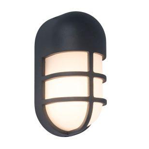 Bullo LED Outdoor Flush Wall Light - Black