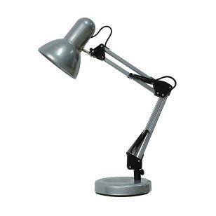 Edit Hinge Desk Lamp - Silver