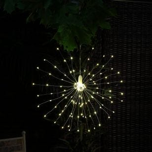 Firework Battery Operated LED Outdoor Feature Light