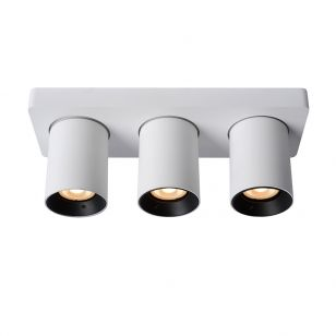 Lucide Nigel 3 Light LED Spotlight Plate - White