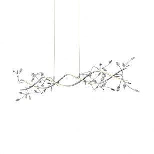 Edit Blossom LED Bar Ceiling Pendant Light - Chrome