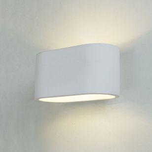 Edit Merton Up & Down Plaster Wall Light