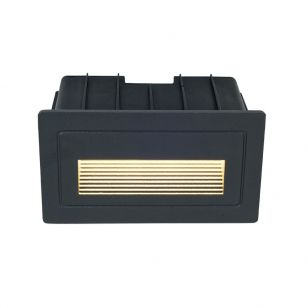 Edit Route LED Outdoor Recessed Wall Light - Anthracite