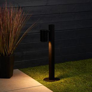 Edit Kirk Outdoor Post Light - Black