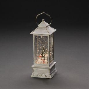 Konstsmide Snowman Battery Operated LED Lantern