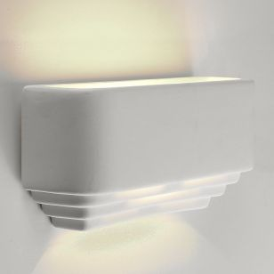 Edit Beaumont Ceramic Up and Down Wall Light