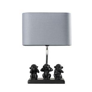 Edit Shinto Table Lamp - Black