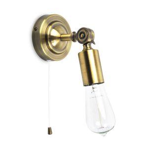 Edit Salisbury Wall Light - Antique Brass
