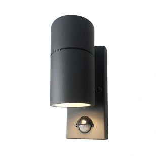 Edit Stone Outdoor Wall Light with PIR Sensor - Anthracite