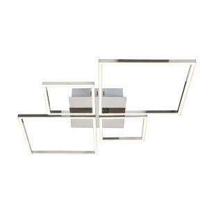 Edit Anna LED Flush Ceiling Light - Chrome