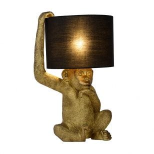 Lucide Extravaganza Chimp Table Lamp - Black