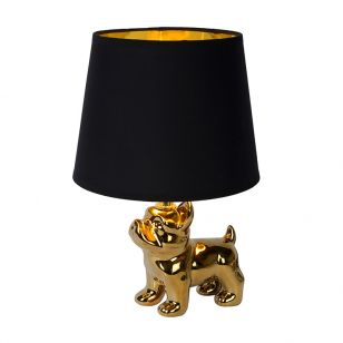Lucide Extravaganza Sir Winston Porcelain Table Lamp - Gold