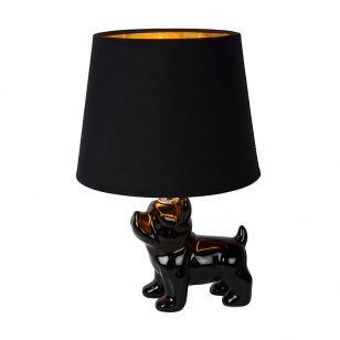Lucide Extravaganza Sir Winston Porcelain Table Lamp - Black