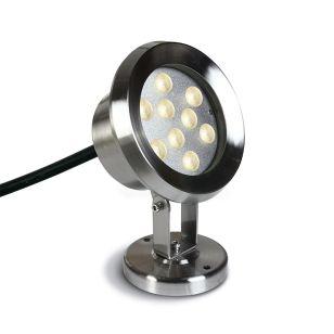 Sub 9W LED Underwater Spotlight - Stainless Steel