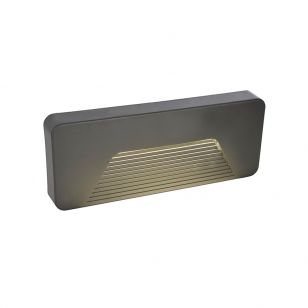 Edit Coastal Breeze LED Outdoor Surface Brick Light - Anthracite