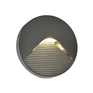 Edit Coastal Breeze LED Outdoor Wall Light - Anthracite