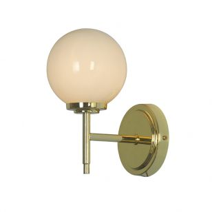 Edit Porto Glass Wall Light - Brass
