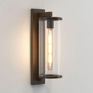 Astro Pimlico 500 Outdoor Lantern Wall Light - Bronze