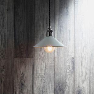 Edit Guard Easy Fit Ceiling Pendant Shade - Matt Grey