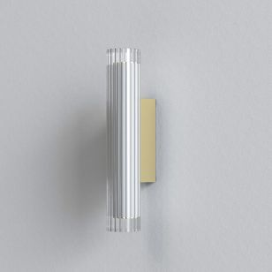 Astro io 420 LED Wall Light - Matt Gold