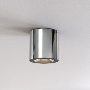 Astro Kos II Outdoor Flush Ceiling Light - Polished Chrome