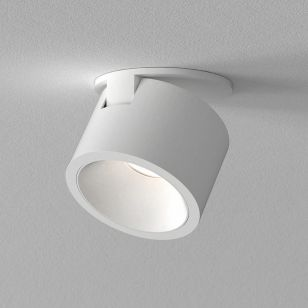 Astro Lyn Recessed LED Single Spotlight - Matt White